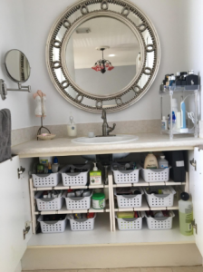 2-Tier Under Sink Multifunctional Rack photo review