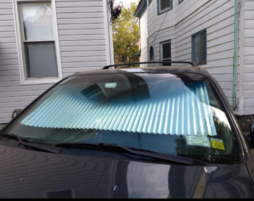 Car Retractable Windshield Cover photo review