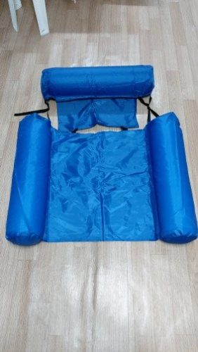 Swimming Floating Bed And Lounge Chair (Adjustable + Collapsable Chair/Bed) photo review